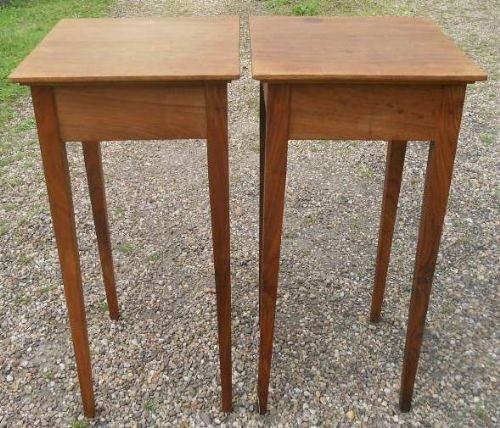 Pair Walnut Ocassional Tables by R H Lewin